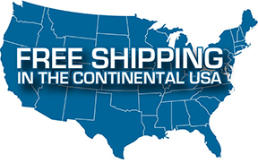 free shipping usa map